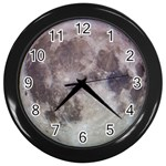 Moon Clock - Wall Clock (Black)