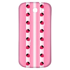 Strawberry Cream Cake Samsung Galaxy S3 S Iii Classic Hardshell Back Case