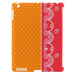 Lace Dots With Rose Gold Apple Ipad 3/4 Hardshell Case (compatible With Smart Cover) by strawberrymilk