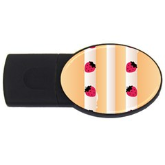 Origin Strawberry Cream Cake Usb Flash Drive Oval (2 Gb) by strawberrymilk