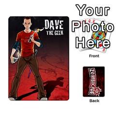 Zombicide Survivor Selector Deck By Dean   Playing Cards 54 Designs   Icfj9beh2irh   Www Artscow Com Front - Spade2