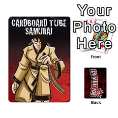 Zombicide Survivor Selector Deck By Dean   Playing Cards 54 Designs   Icfj9beh2irh   Www Artscow Com Front - Heart5