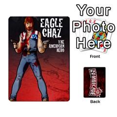 Zombicide Survivor Selector Deck By Dean   Playing Cards 54 Designs   Icfj9beh2irh   Www Artscow Com Front - Spade5