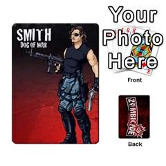 Zombicide Survivor Selector Deck By Dean   Playing Cards 54 Designs   Icfj9beh2irh   Www Artscow Com Front - Club4
