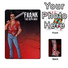 Zombicide Survivor Selector Deck By Dean   Playing Cards 54 Designs   Icfj9beh2irh   Www Artscow Com Front - Club9