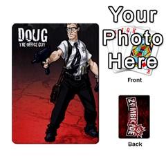 Zombicide Survivor Selector Deck By Dean   Playing Cards 54 Designs   Icfj9beh2irh   Www Artscow Com Front - Spade7