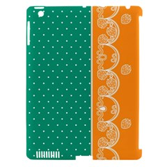 Lace Dots Gold Emerald Apple Ipad 3/4 Hardshell Case (compatible With Smart Cover) by strawberrymilk