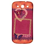 Butterfly_SamsungGalaxyS3 - Samsung Galaxy S3 S III Classic Hardshell Back Case