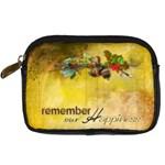 Remember our Happiness bag - Digital Camera Leather Case