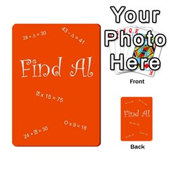 Find Al By Michelle Mcgregor   Multi Purpose Cards (rectangle)   Wf45mlonry2x   Www Artscow Com Back 9