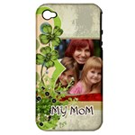 mothers day - Apple iPhone 4/4S Hardshell Case (PC+Silicone)