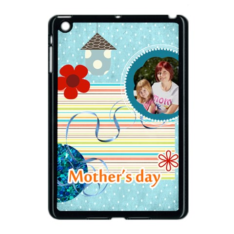 Mothers Day By Jacob   Apple Ipad Mini Case (black)   Ni4e8pa695bq   Www Artscow Com Front