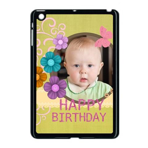 Kids, Fun, Child, Play, Happy By Jacob   Apple Ipad Mini Case (black)   Qr1s42ug0zuq   Www Artscow Com Front