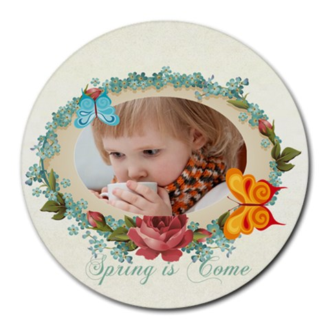 Kids, Fun, Child, Play, Happy By Jacob   Round Mousepad   Y37klpo9wn0x   Www Artscow Com Front
