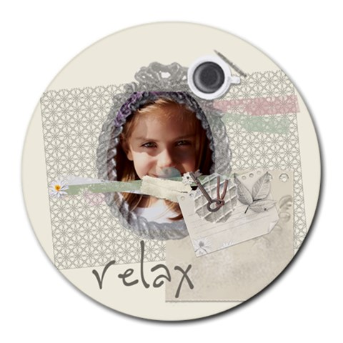 Kids, Fun, Child, Play, Happy By Jacob   Round Mousepad   K1ng19xpytcd   Www Artscow Com Front