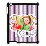 baby, love, kids, memory, happy, fun  - Apple iPad 3/4 Case (Black)