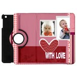 baby, love, kids, memory, happy, fun  - Apple iPad Mini Flip 360 Case