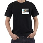 Key West Shirt - Men s T-Shirt (Black) (Two Sided)