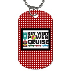 Car Dog Tag By Joy Johns   Dog Tag (two Sides)   8g89dfz4djxt   Www Artscow Com Front