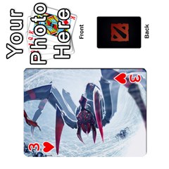 Dota Cards By Tom   Playing Cards 54 Designs   Dtf7c0mw8fgw   Www Artscow Com Front - Heart3