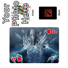 Dota Cards By Tom   Playing Cards 54 Designs   Dtf7c0mw8fgw   Www Artscow Com Front - Heart4