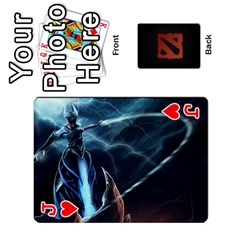 Jack Dota Cards By Tom   Playing Cards 54 Designs   Dtf7c0mw8fgw   Www Artscow Com Front - HeartJ