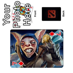 Dota Cards By Tom   Playing Cards 54 Designs   Dtf7c0mw8fgw   Www Artscow Com Front - Diamond7