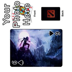Dota Cards By Tom   Playing Cards 54 Designs   Dtf7c0mw8fgw   Www Artscow Com Front - Spade6