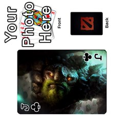 Jack Dota Cards By Tom   Playing Cards 54 Designs   Dtf7c0mw8fgw   Www Artscow Com Front - ClubJ