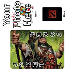 Dota Cards By Tom   Playing Cards 54 Designs   Dtf7c0mw8fgw   Www Artscow Com Front - Joker1