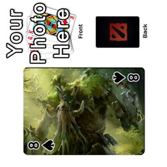 Dota Cards By Tom   Playing Cards 54 Designs   Dtf7c0mw8fgw   Www Artscow Com Front - Spade8