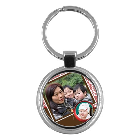 Kc For Fung Gu Por By Ip Tsui Yee   Key Chain (round)   Dcnqrif51t3p   Www Artscow Com Front