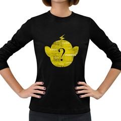 Who Is Funkymonkey? Women s Long Sleeve Dark T Shirt by funkymonkey