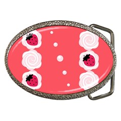 Cake Top Rose Belt Buckle by strawberrymilk