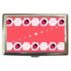 Cake Top Rose Cigarette Money Case by strawberrymilk