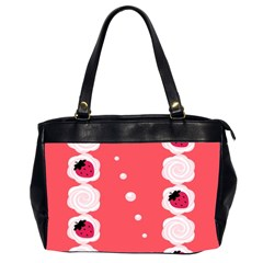 Cake Top Rose Oversize Office Handbag (two Sides) by strawberrymilk