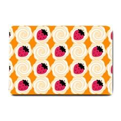 Cake Top Orange Small Doormat