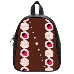 Cake Top Choco School Bag (small) by strawberrymilk