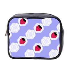 Cake Top Blueberry Mini Toiletries Bag (two Sides) by strawberrymilk