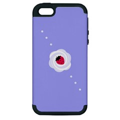 Cake Top Purple Apple Iphone 5 Hardshell Case (pc+silicone) by strawberrymilk