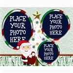 Santa Collage 8x10 - Collage 8  x 10