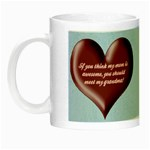 Awesome Grandma Night Luminous Mug