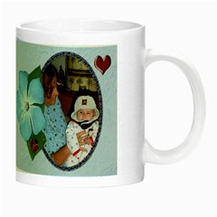 Awesome Grandma Night Luminous Mug By Chere s Creations   Night Luminous Mug   88nsjwarw0rk   Www Artscow Com Right