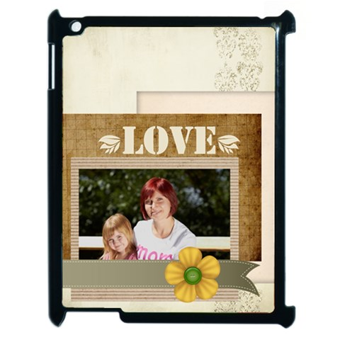 Mothers Day By Jacob   Apple Ipad 2 Case (black)   G4r5cix3i8me   Www Artscow Com Front