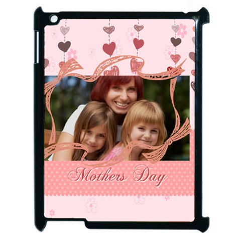 Mothers Day By Jacob   Apple Ipad 2 Case (black)   Ixr5963wwl21   Www Artscow Com Front