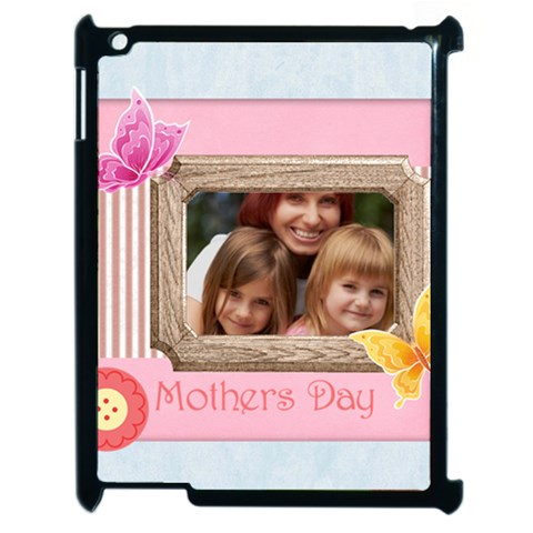 Mothers Day By Jacob   Apple Ipad 2 Case (black)   4uj48nm733s4   Www Artscow Com Front