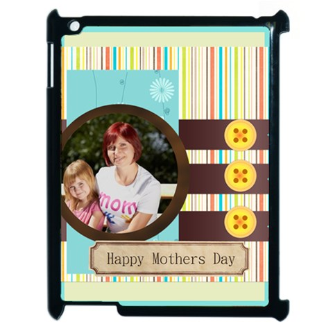 Mothers Day By Jacob   Apple Ipad 2 Case (black)   V5zxrri8m7jx   Www Artscow Com Front