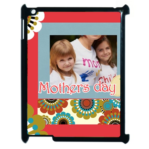 Mothers Day By Jacob   Apple Ipad 2 Case (black)   Uhj3w6dkomq1   Www Artscow Com Front