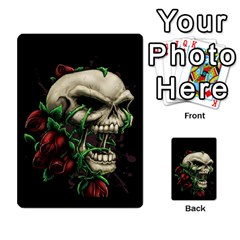 Skull&roses Card Game By Toolex   Multi Purpose Cards (rectangle)   Xvbyryfow9bg   Www Artscow Com Front 12