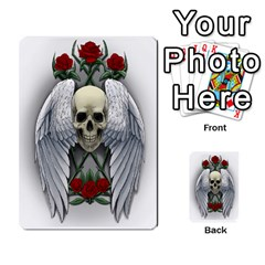 Skull&roses Card Game By Toolex   Multi Purpose Cards (rectangle)   Xvbyryfow9bg   Www Artscow Com Front 16